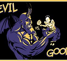Evil vs. Good by Benjamin Bader