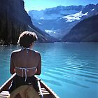 On Lake Louise, 1981 by Bob Gaffney