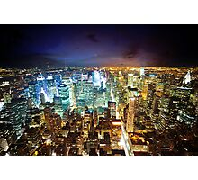 New York - City of Lights Photographic Print