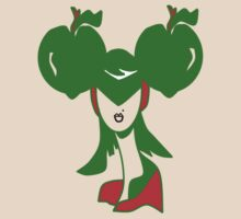Apple Girl Green by Beatrice  Ajayi