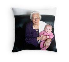 Oma  and Harlyn Throw Pillow