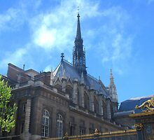 Sainte-Chapelle by Peter Reid