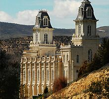 Manti Temple - From Whence it Sprang by Ryan Houston