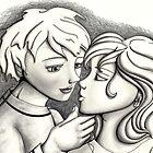 kiss by ninamarie