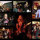 Rock music collage by KellyJo