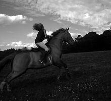 NITE GALLOP by scarlet james