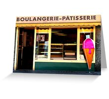 Boulangerie Patisserie Greeting Card
