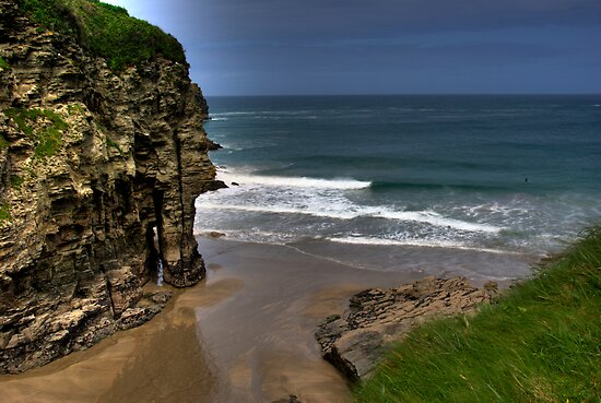 Elephant Rock Bossiney Haven by David Wilkins
