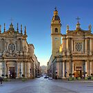 The Twin Churches by paolo1955