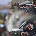 Aztec Incense Blessing by Kate Purdy