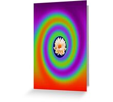 Healing lotus flow  Greeting Card