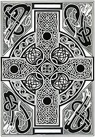Celtic Cross by morgansartworld
