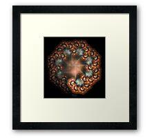 'Octo-spiral' Framed Print
