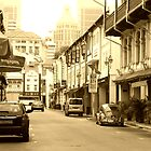Chinatown in Sepia by toffeespin