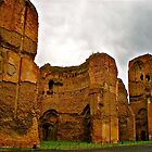 Baths of Caracalla by Hughsey