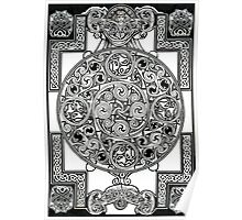 Celtic Tapestry Drawing Poster