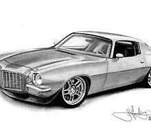 1971 Camaro by John Harding