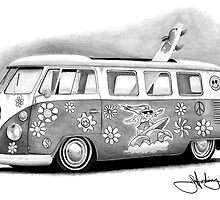 Kombi - Summers here - Surf's up by John Harding
