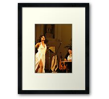 dancer & worker Framed Print