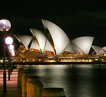 Sydney at night 17 by John Vandeven