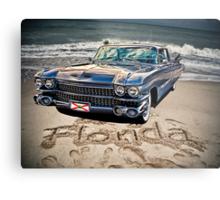 ocean drive Metal Print