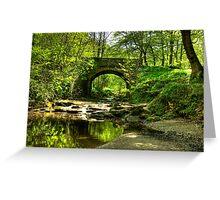 The Bridge at May Beck Greeting Card