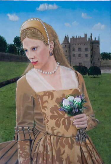 Medieval Girl III by Robert O'Neill