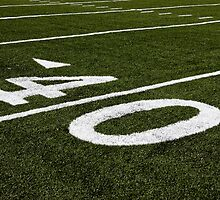 On the Forty Yard Line by Buckwhite