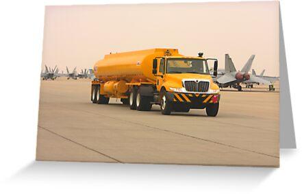 Trucks - Jet Refueling Truck by Buckwhite