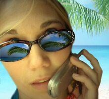 Sunglass & Phone by johnsonKa21