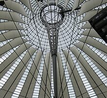 "View of ""ceiling"" of Sony Center in Berlin, Germany by foxinabox"