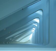 Inside the Milwaukee Art Museum by foxinabox