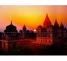 Cenotaphs of Orchha. India. Photographic Print