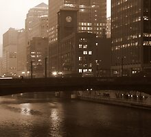 Fog in the Windy City by Alison Simpson