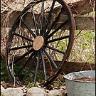 Wagon Wheel 2 by katievphotos