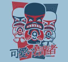 Grumpy Mascot Stencil by KawaiiPunk