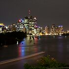 Brisbane CBD from Kangaroo Point 1 by Newsworthy