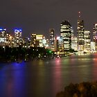 Brisbane CBD from Kangaroo Point 2 by Newsworthy
