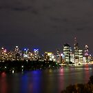 Brisbane CBD from Kangaroo Point 3 by Newsworthy