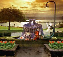 Goldfish vs. Mermaid by Devon Mallison
