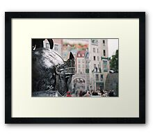 Quebec City, Home Of The One-Knight Stand Framed Print