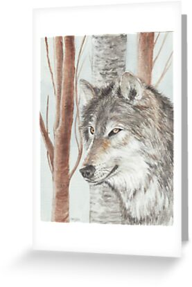 Timber Wolf by morgansartworld
