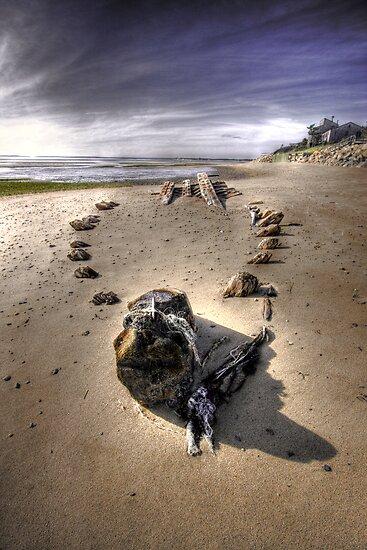 The Hammer Shipwreck Cape Cod HDR by capecodart