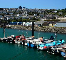 Crabber's Row, Newlyn, Cornwall by rodsfotos