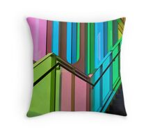 Candy Coloured Palace Throw Pillow
