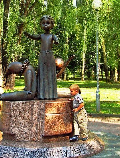 Statue i spomenici posvećene deci Flat,550x550,075,f