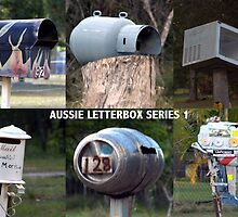 Aussie Letterbox's series 1 by robert murray