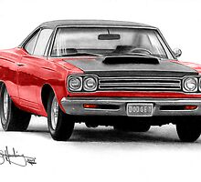 Little Red Roadrunner by John Harding