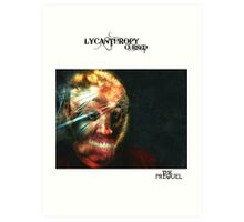 LYCANTHROPY CURSED THE PREQUEL COMIC COVER Art Print
