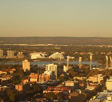 East Perth - Burswood. St Martins Tower. Perth. by m004
